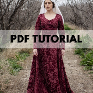 Medieval Dress – Kirtle, Cotehardie, Gothic Fitted Gown
